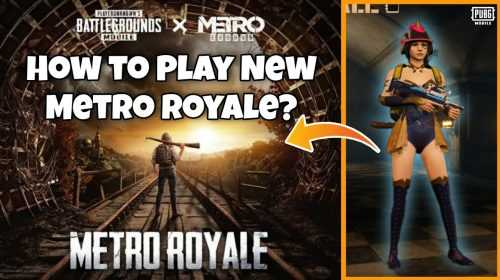 Как играть в PUBG Mobile Metro Royale через Gameloop?